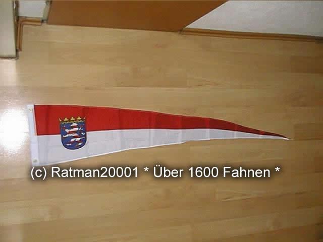Hessen Wimpel Langwimpel - 30 x 150 cm