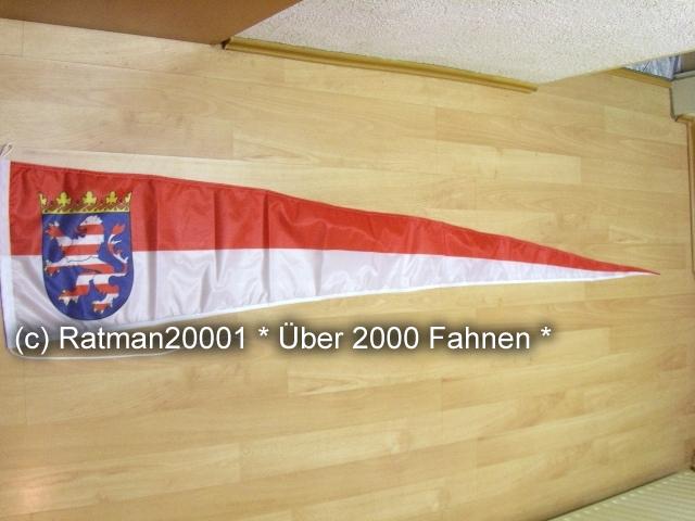 Hessen Wimpel Langwimpel - 38 x 240 cm