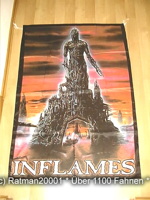 In Flames VD 109 - 135 x 95 cm