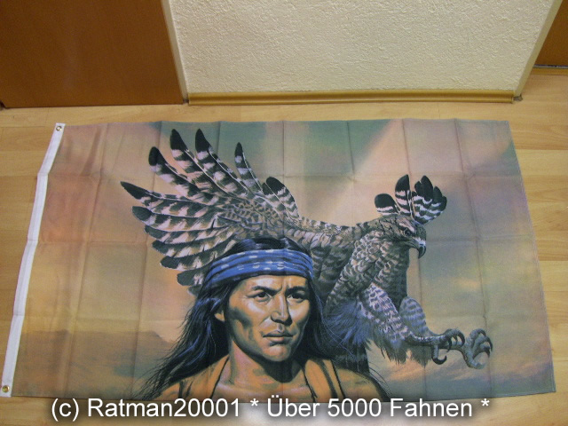 Indianer Adler - 90 x 150 cm
