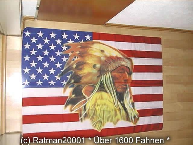 Indianer B137 - 95 x 135 cm