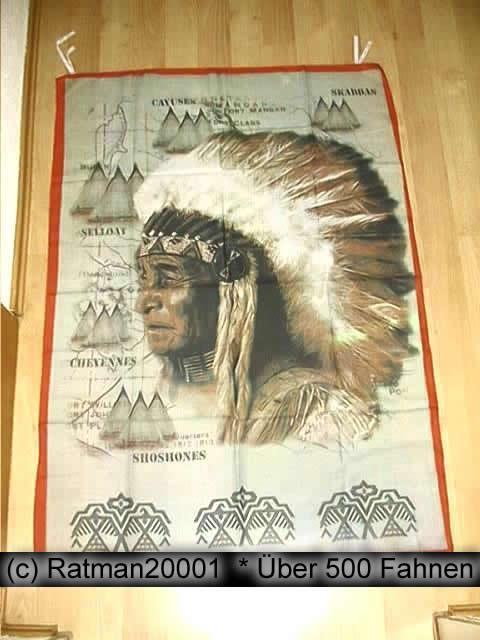 Indianer B156  95 x 135