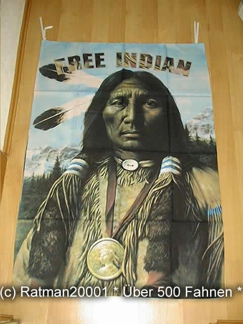 Indianer BGVR 052  95 x 135 cm