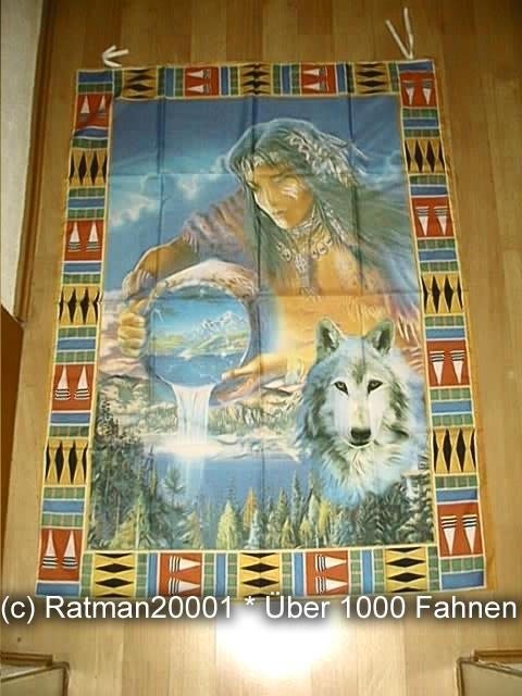 Indianer BGVR 090 - 95 x 137 cm