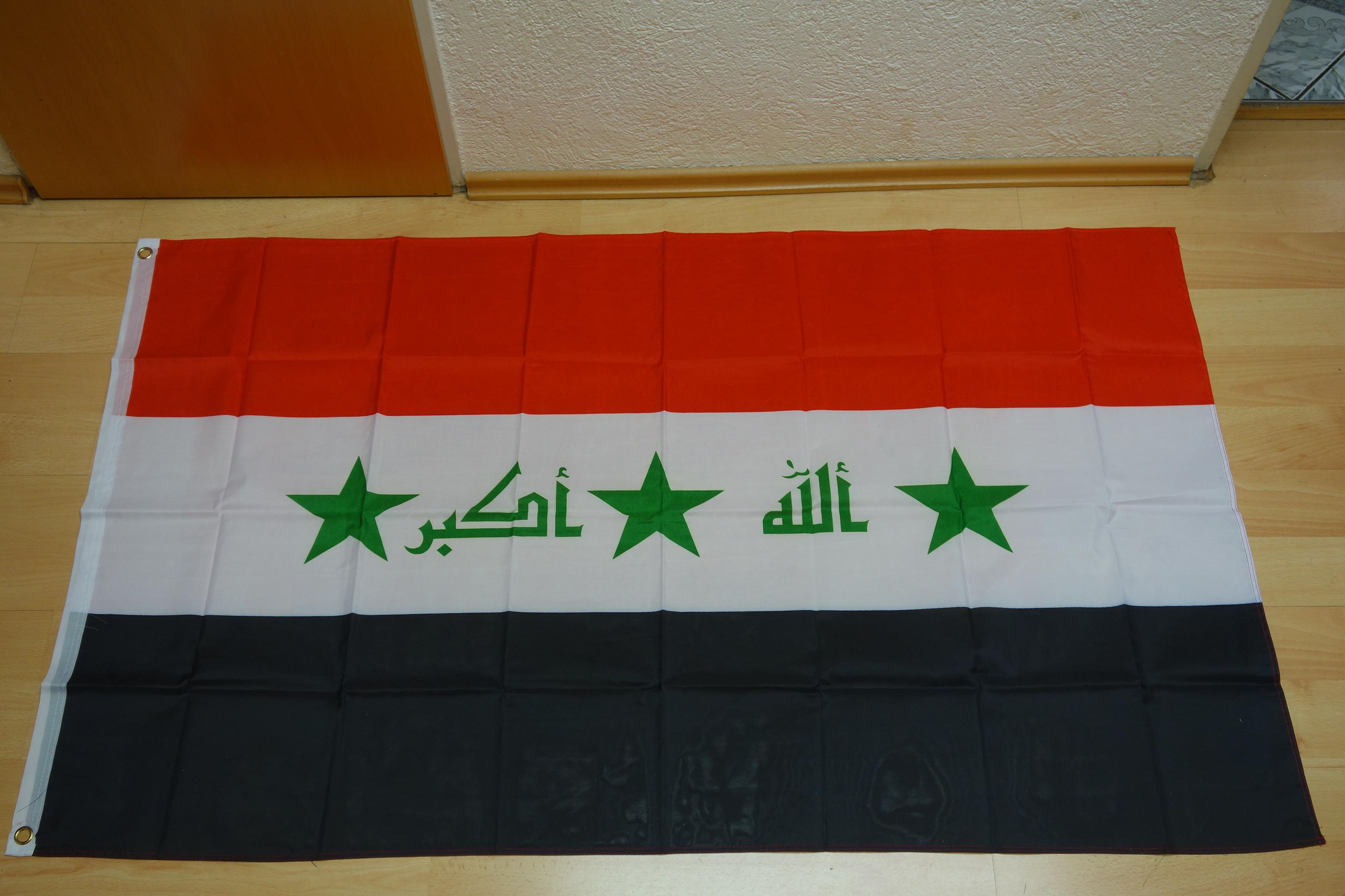 Irak Neu - 90 x 150 cm