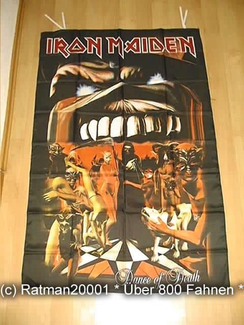 Iron Maiden Dance of Death - 95 x 135 cm