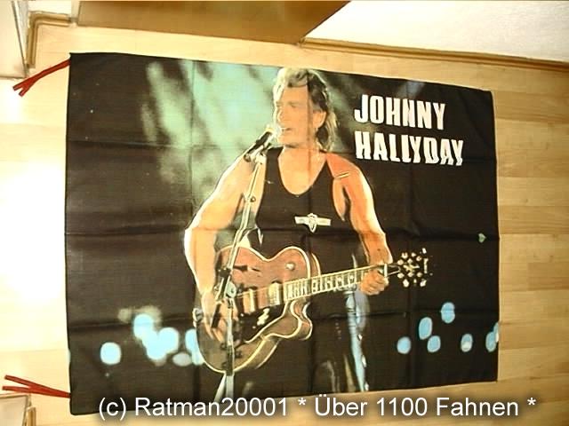 Johnny Hallyday - 97 x 136 cm
