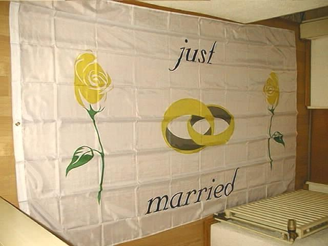 Just Married  - 1 - 150 x 250 cm