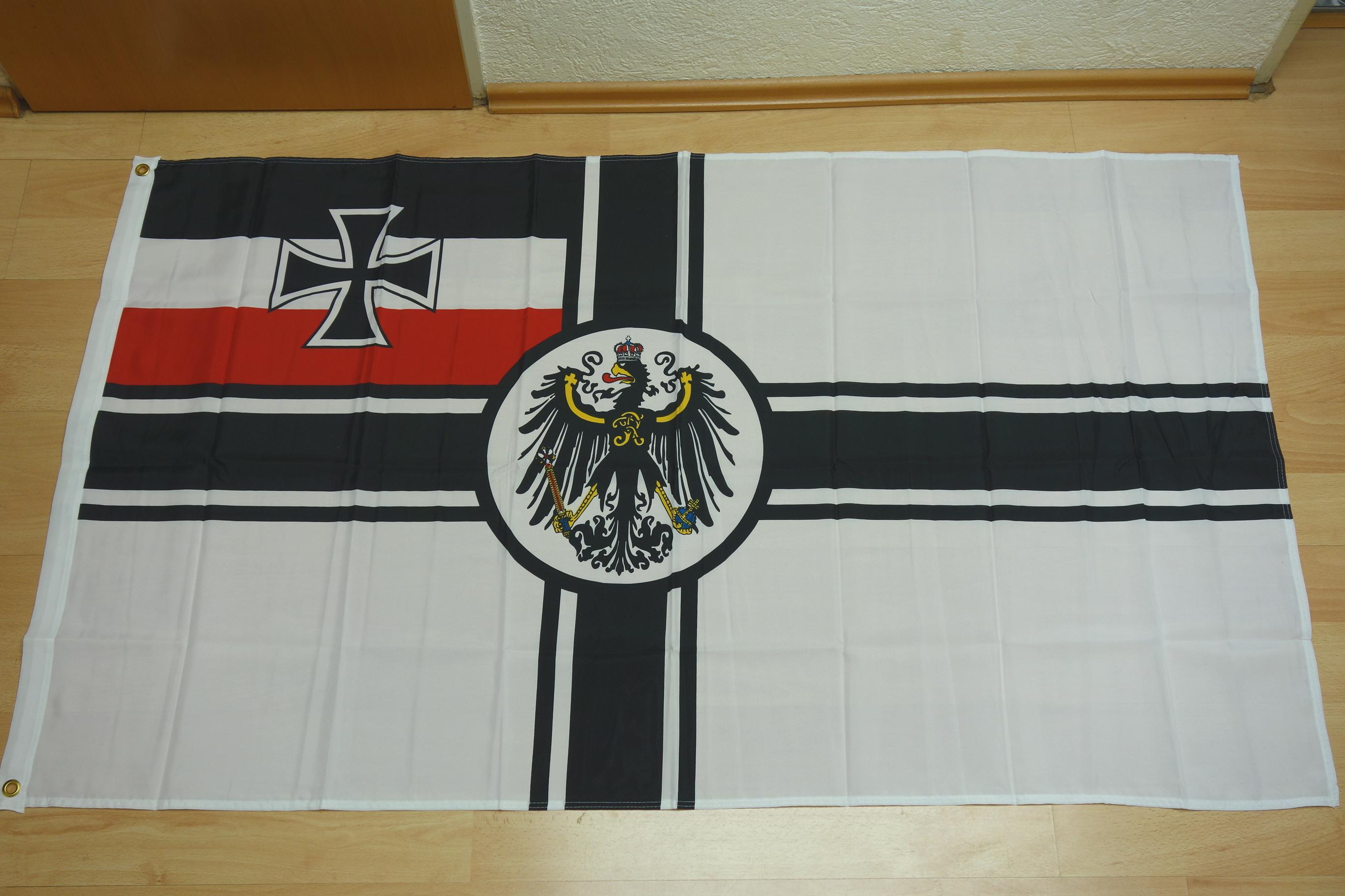 Deutsches Reich Kaiserliche Marine - 90 x 150 cm