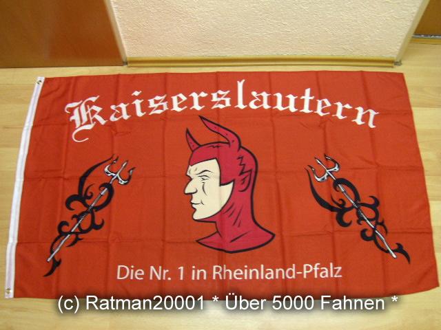 Kaiserslautern Fan Die NR.1- 90 x 150 cm
