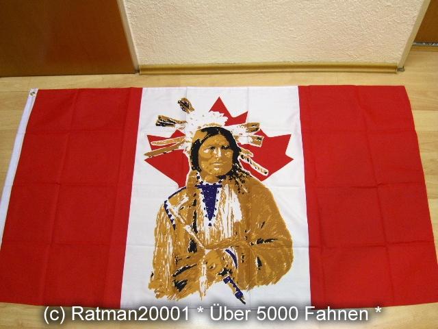 Kanada Canada Indianer - 90 x 150 cm