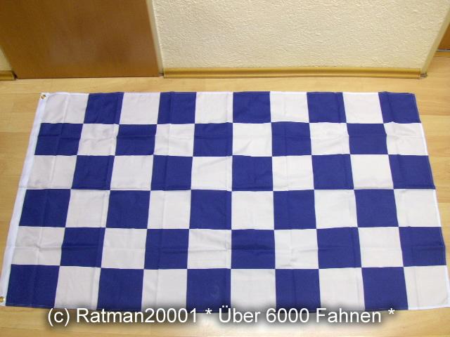 Karo Blau Weiß - 90 x 150 cm