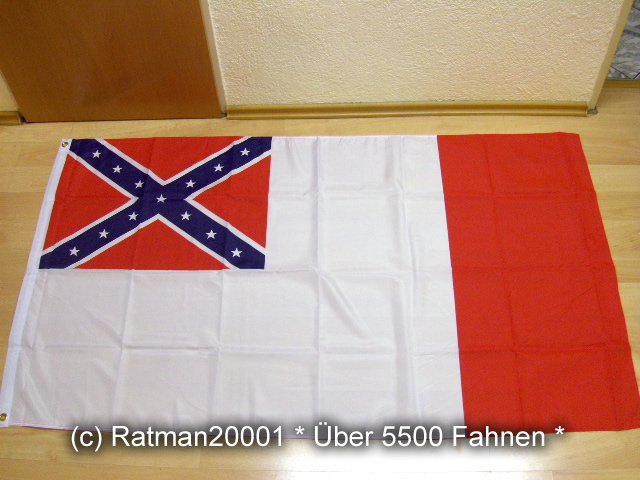 Südstaaten Konföderierte Staaten 1865 - 90 x 150 cm