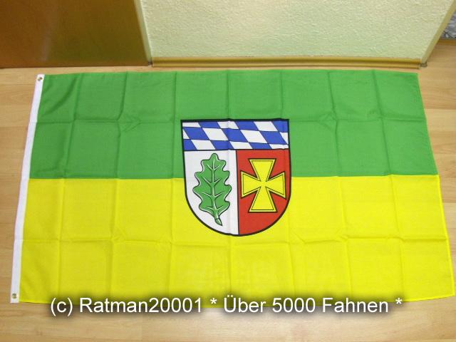 Landkreis Aichach Friedberg - 90 x 150 cm