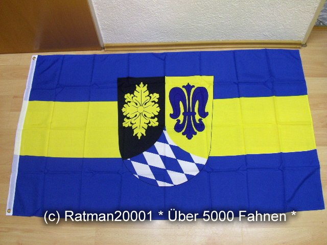 Landkreis Unterallgäu - 90 x 150 cm
