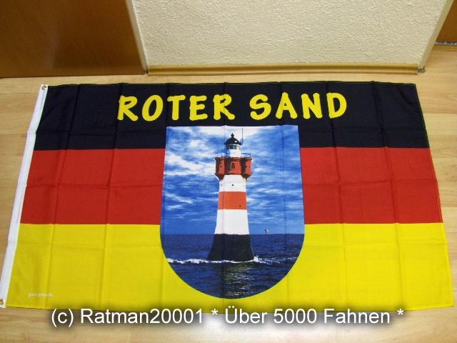 Leuchtturm Rotersand - 90 x 150 cm