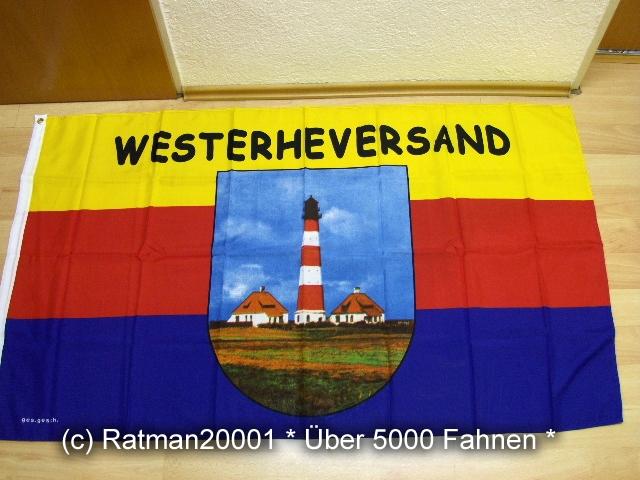 Leuchtturm Westerheversand - 90 x 150 cm