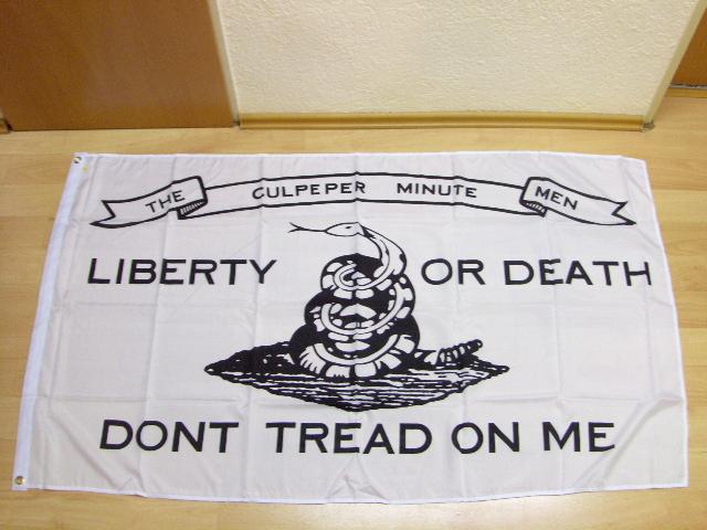 Liberty OR Death Culpepper - 90 x 150 cm