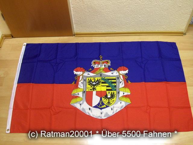 Liechtenstein Wappen - 90 x 150 cm