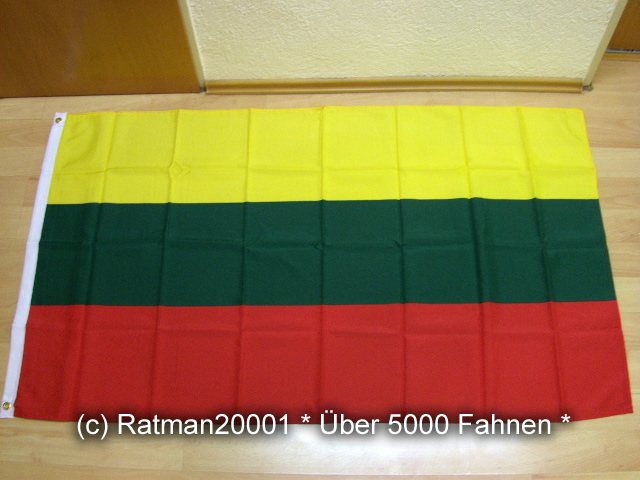 Litauen - 90 x 150 cm