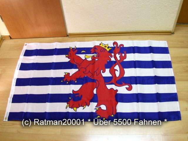 Luxemburg Handelsflagge Wappen - 90 x 150 cm