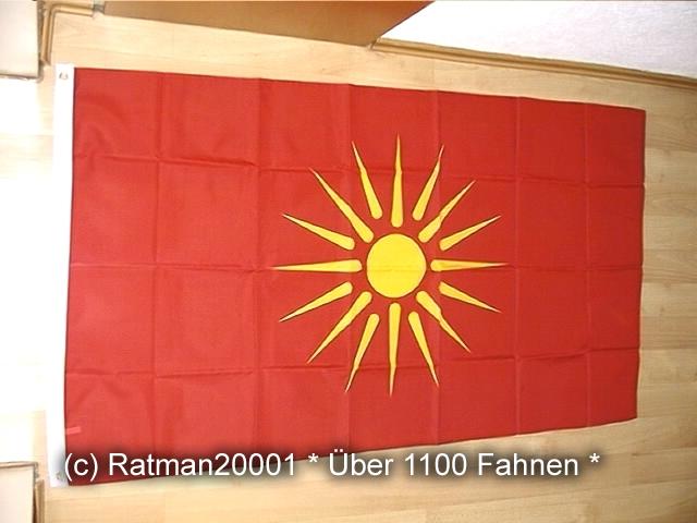 Mazedonien Makedonien 1992 bis 1995 - 90 x 150 cm