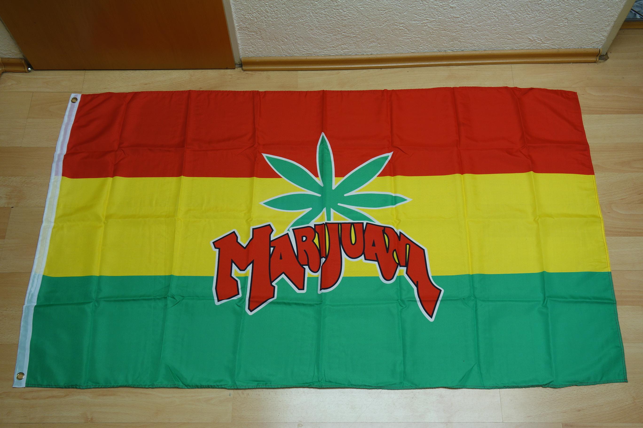 Marijuana Neu - 90 x 150 cm