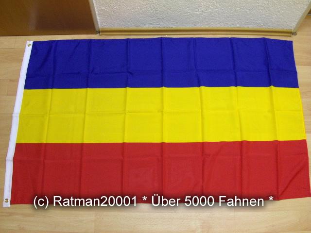 Mecklenburg ohne Wappen - 90 x 150 cm
