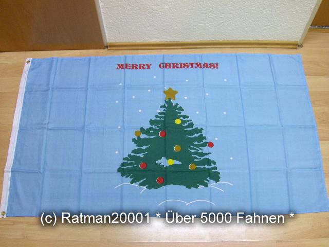Merry Christmas Baum - 90 x 150 cm