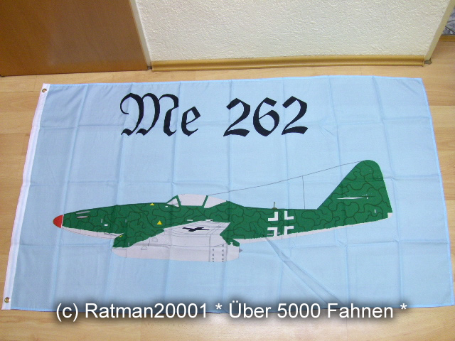 Messerschmitt Me 262 Düsenjäger - 90 x 150 cm