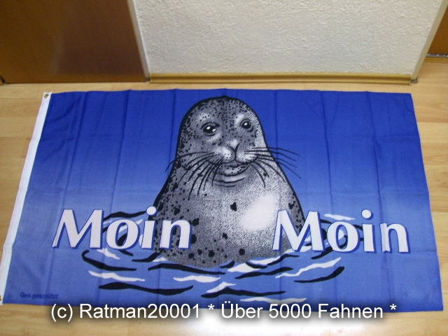 Moin Moin Seehund - 90 x 150 cm