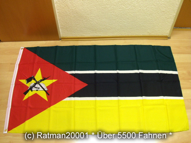 Mosambik - 90 x 150 cm