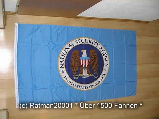 National Security Agency NSA - 90 x 150 cm