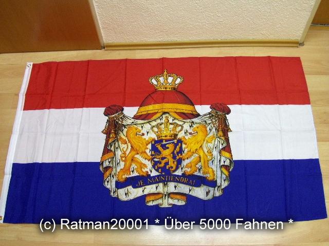 Niederlande Großes Wappen - 90 x 150 cm