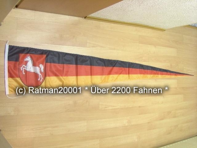Niedersachsen Wimpel - 38 x 240 cm
