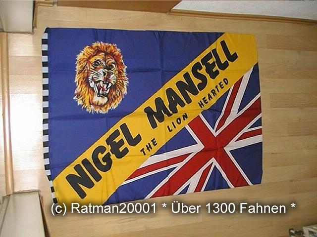 Nigel Mansell - 95 x 135