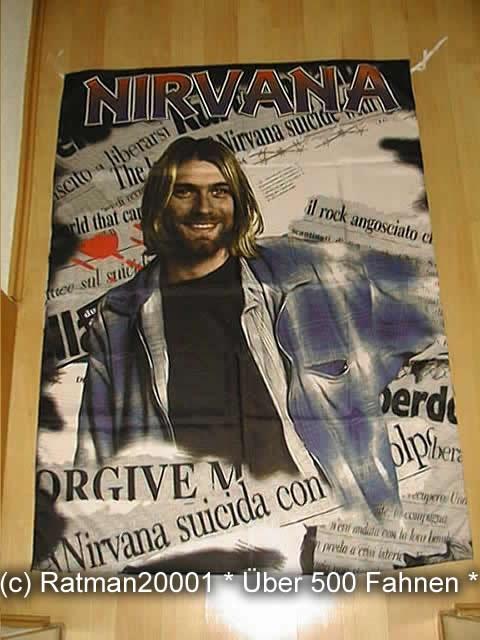 Nirvana Kurt Cobain 364 - 95 x 135 cm