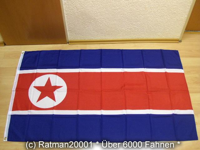 Nord Korea Nordkorea - 90 x 150 cm
