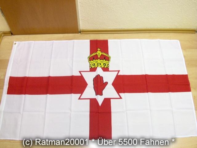 Nord Irland Nordirland - 90 x 150 cm