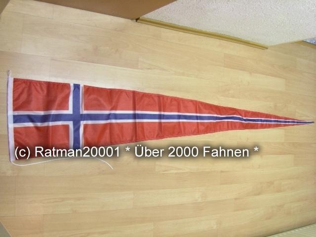 Norwegen Wimpel - 38 x 240 cm