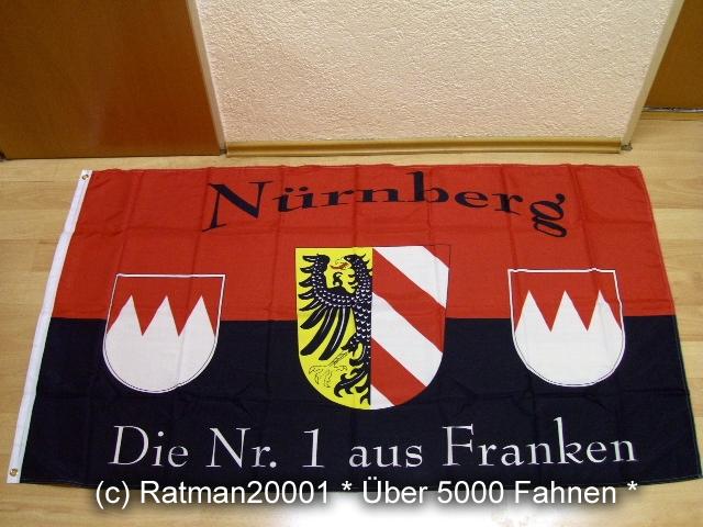 Nürnberg Die Nr.1 aus Franken Fan - 90 x 150 cm