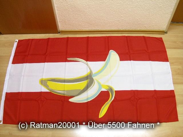 Österreich Bananenrepublik - 90 x 150 cm