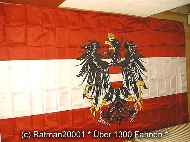 Österreich mit Wappen - 2 - 150 x 250 cm