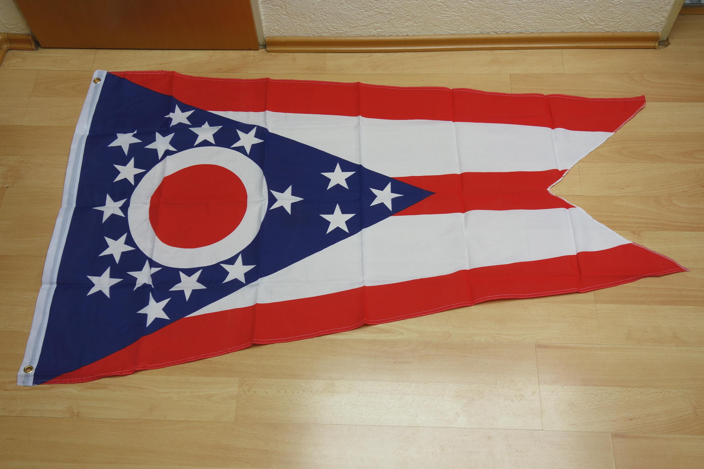 Ohio USA Bundesstaat - 90 x 150 cm