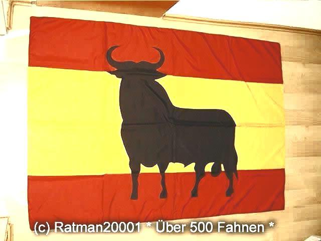 Spanien Stier - 95 x 135 cm