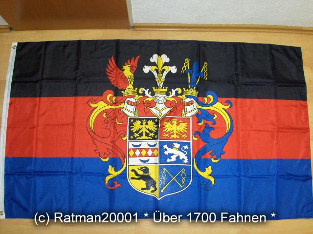 Ostfriesland Prachtwappen großes Wappen - 90 x 150 cm