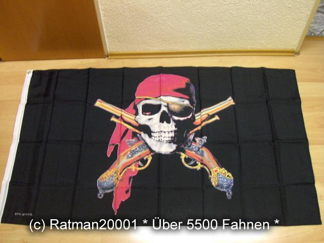 Pirat mit Pistolen - 90 x 150 cm