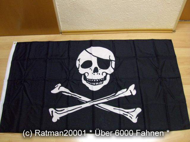 Pirat Augenklappe - 90 x 150 cm