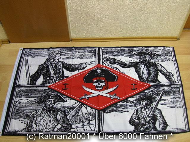 Piraten Kapitene Chief - 90 x 150 cm
