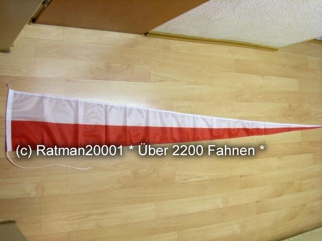 Polen Wimpel Langwimpel - 30 x 240 cm
